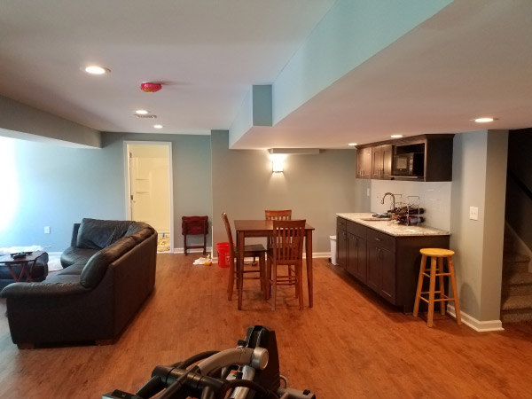 West Chester PA Basement Remodelers