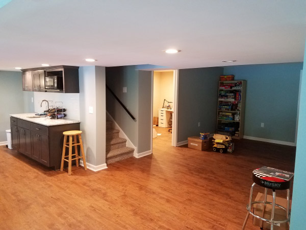 West Chester PA Basement Remodeling